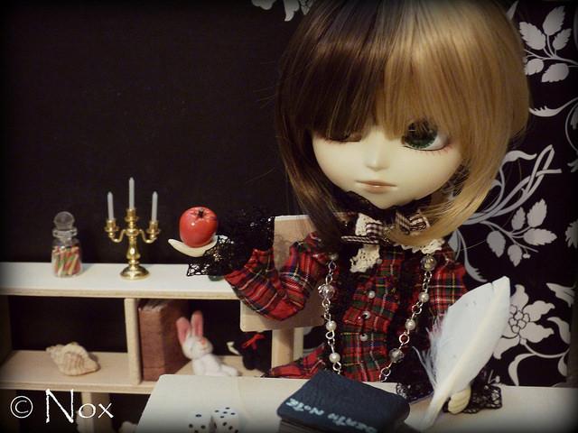writing doll
